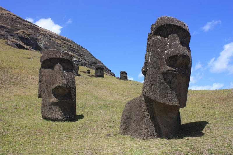PUBLIC DOMAIN DNA shows Easter Island inhabitants had little Native American contact.