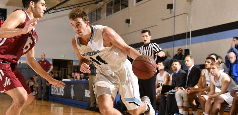 HOPKINSSPORTS.COM The men's basketball team extends their win streak to seven games after two victories against Conference leaders Gettysburg and Dickinson.