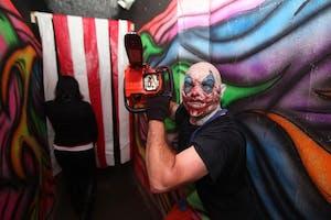 LANCE CPL. JORDEN WELLS/ PUBLIC DOMAIN Haunted attractions like Field of Screams are popular around Halloween.