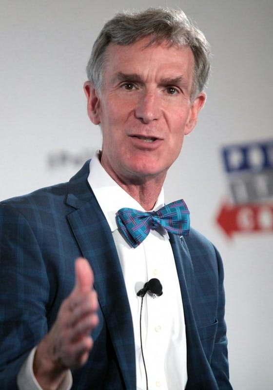 PUBLIC DOMAIN Bill Nye, an American science personality has become a political activist.