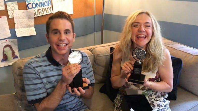 THE TONY AWARDS/CC BY 3.0 Ben Platt and Rachel Bay Jones won Tonys for Dear Evan Hansen.