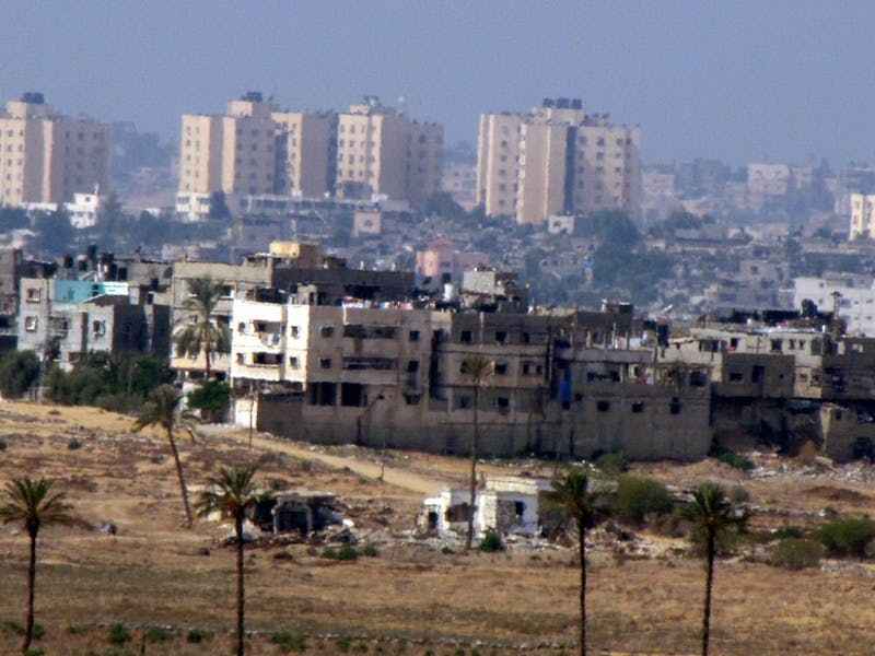 David Berkowitz/CC by-SA 2.0 The Gaza Strip, home to over a million, is one of the world's most densely populated areas.