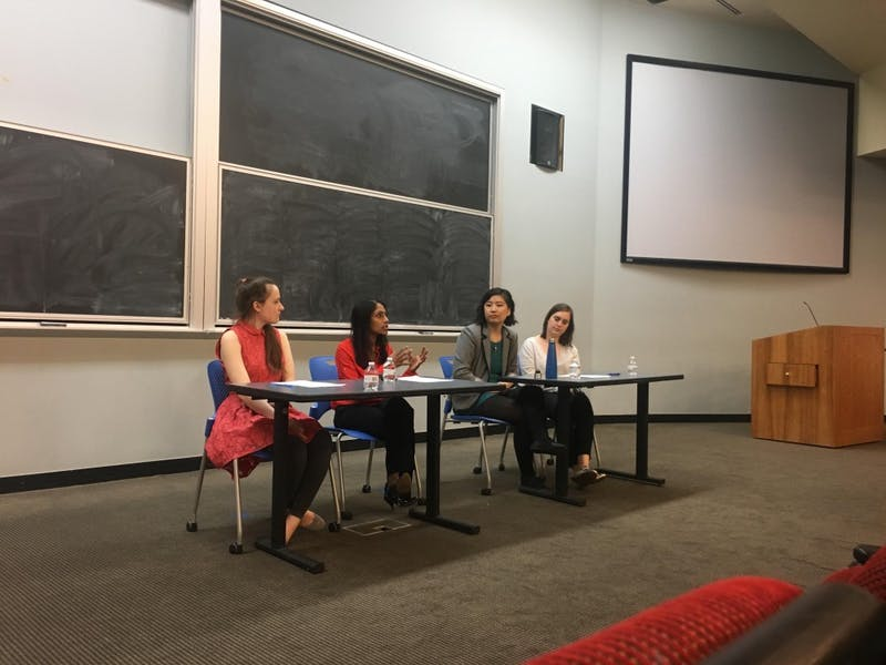 Panelists called for changes in education and societal norms around sexual assault and violence.