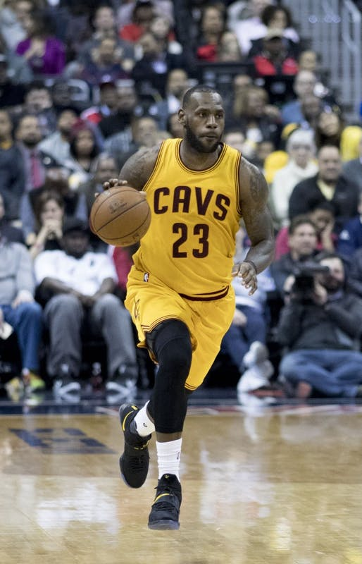 KEITH ALLISON/CC BY-SA 2.0 LeBron James' Cavaliers got a complete roster makeover at the deadline.