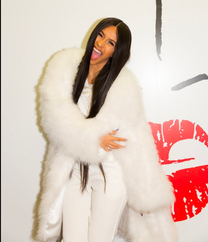 "TOW/CC BY 2.0 Cardi B is following up on the success of her breakout single ""Bodak Yellow."""