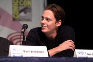 GAGE SKIDMORE/CC BY-SA 2.0 Bill Skarsgård plays the monstrous clown Pennywise in this adaptation of Stephen King's famed 1986 novel.