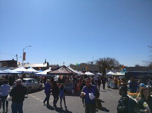 COURTESY OF JESSE WU Waverly's 32nd Street Farmer's Market offers a variety of delicious options to explore.