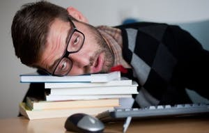 PUBLIC DOMAIN Reduction in depression occurred with sleep deprivation.