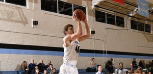 HOPKINSSPORTS.COM Recently named Player of the Week, senior Kyle Doran earned career highs.