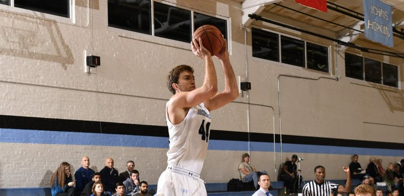 HOPKINSSPORTS.COM Recently named Player of the Week, senior Kyle Doran earned career highs.