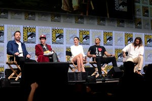 GAGE SKIDMORE/CC BY-SA 2.0 Justice League features an ensemble cast that includes actors like Ben Affleck and Gal Gadot.