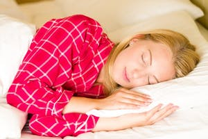 PUBLIC DOMAIN During REM sleep, your eyes look rapidly in different directions and heart rate increases.