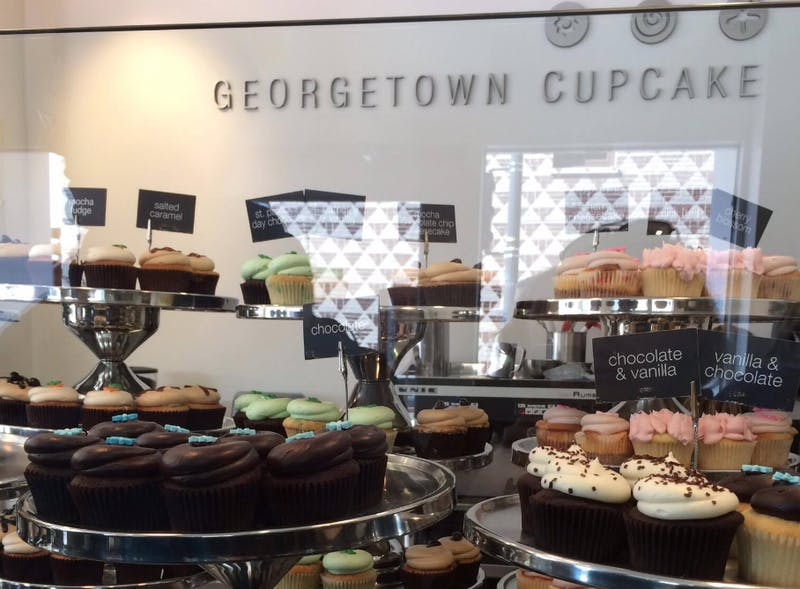 COURTESY OF HANNAH MELTON Georgetown Cupcakes are just as delicious as they are said to be.