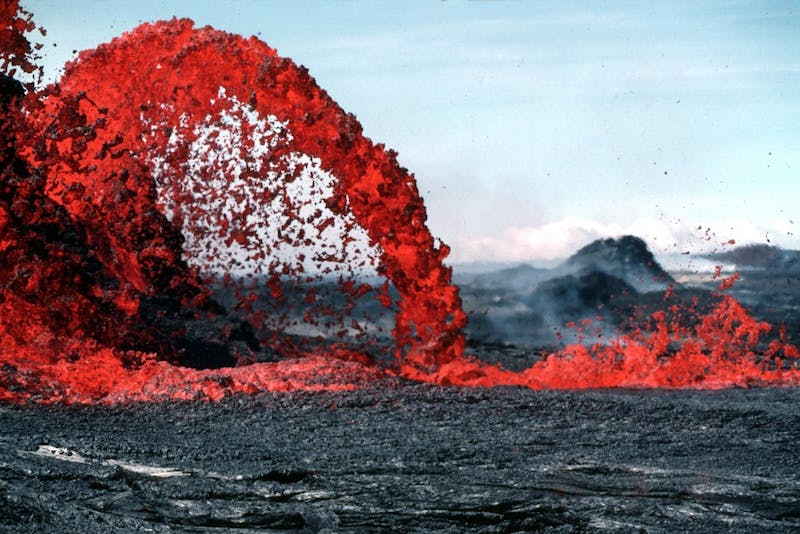 PUBLIC DOMAIN Supervolcanoes have the potential to complete an eruption cycle during an individual's lifespan.