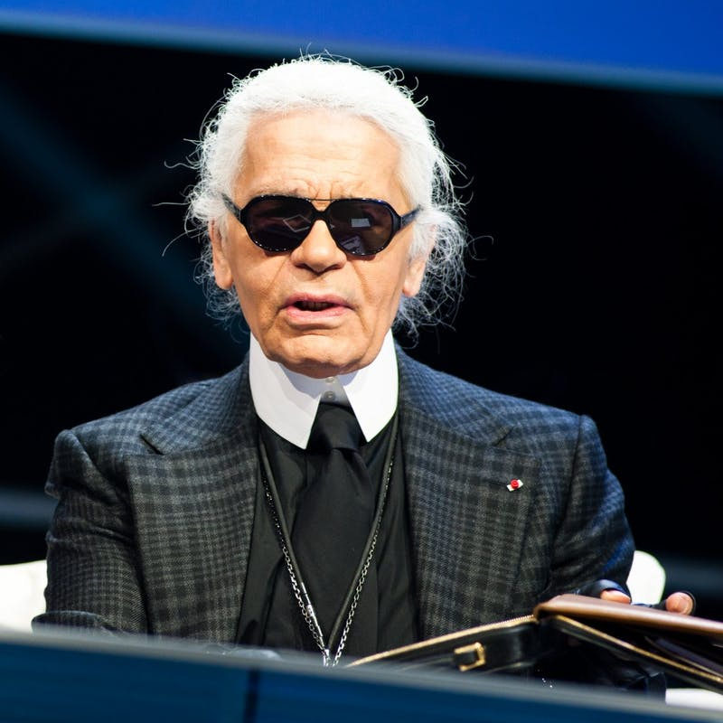 OFFICIAL LE WEB PHOTOS/CC BY 2.0 German artist Karl Lagerfeld is creative director of the fashion house Chanel.