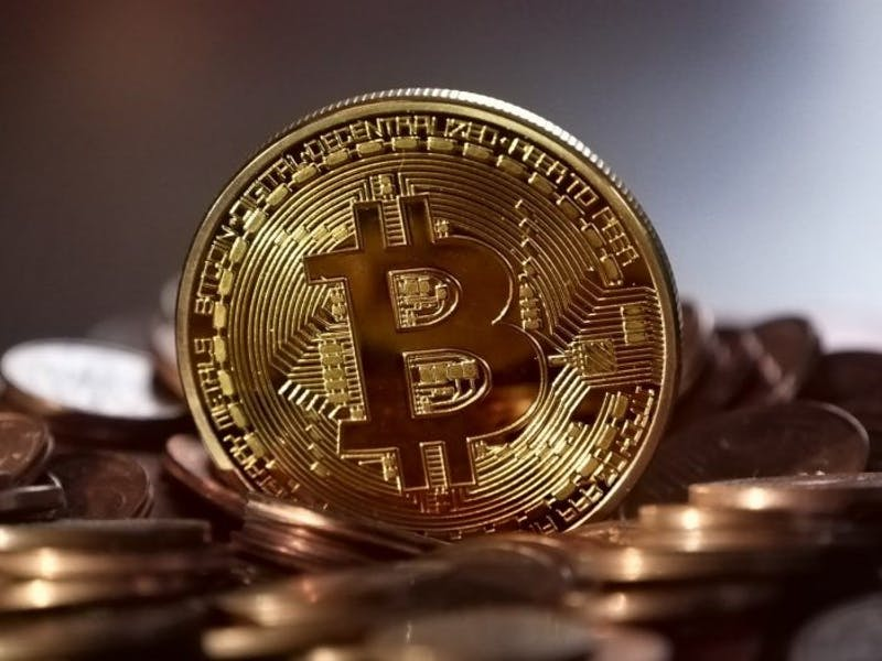 PUBLIC DOMAIN The value of Bitcoin had surged from $5,716 to $19,499 in a single month.