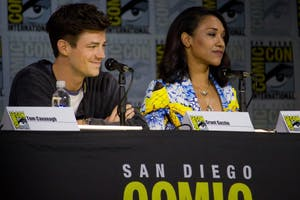 VAGUEONTHEHOW/CC BY 2.0 For the past three seasons, Candice Patton's Iris was mostly defined by her relationship to Grant Gustin's Barry.