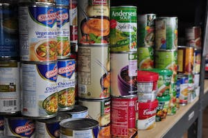 CC BY 2.0/Salvation Army USA West The Food Pantry, located in the Office of Multicultural Affairs, provides Hopkins affiliates with non-perishable food.