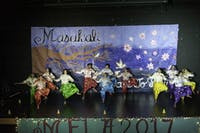 BHANGRA: The penultimate dance, Bhangra, featured beautiful costumes and very intricate dancing.
