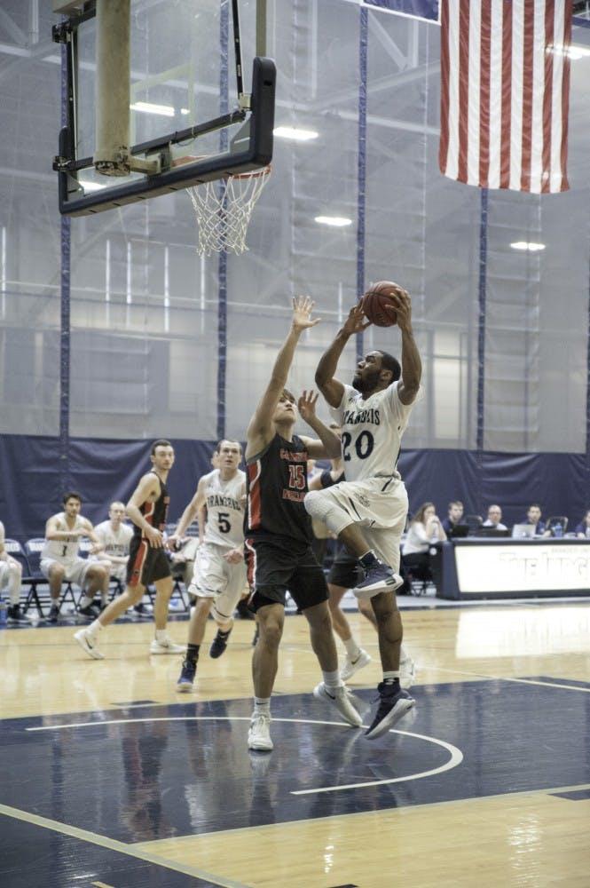 Basketball M vs. Carnegie Mellon 1.28.18 KND0255