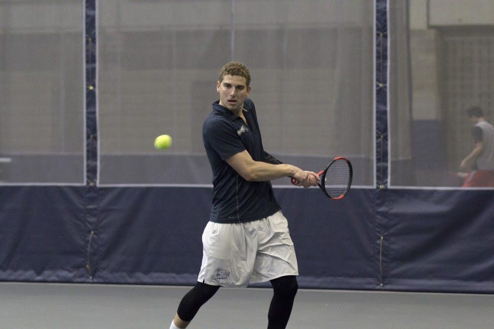 Tennis M vs Rensselaer YS1 2 0223