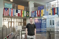 AMBITIOUS GOALS: Eli Wasserman '20 hopes his new club will spark an interest in international relations among students.