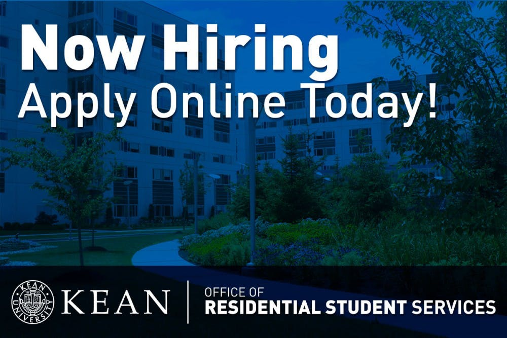 Residential Student Services Is Hiring for Summer 2018!
