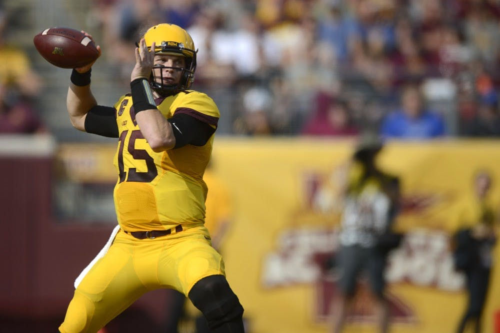 Minnesota quarterback Conor Rhoda 'has to continue to fail to grow'