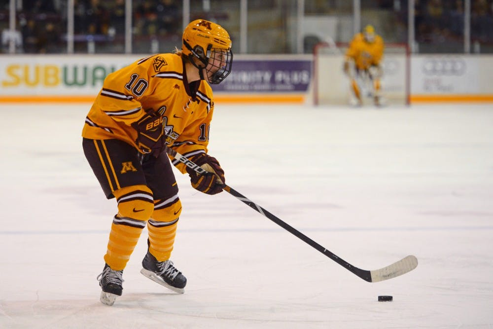 Minnesota sweeps Lindenwood with goal in overtime Sunday