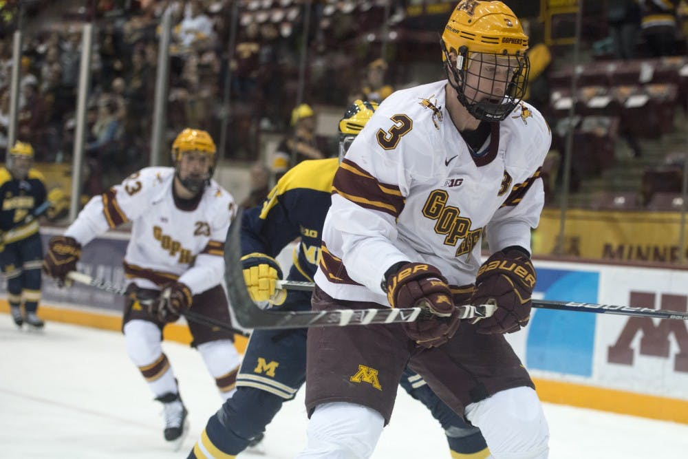 BIG10: Through Different Paths, Minnesota's Senior Defensemen Provide Consistency