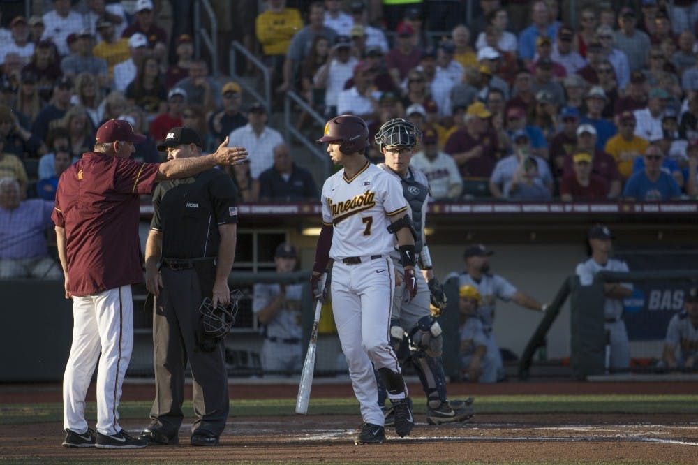 Gophers swept in Super Regional round of the NCAA tournament
