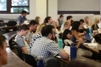 MSA meets for their first forum of the year in Fraser Hall on Sept. 19.