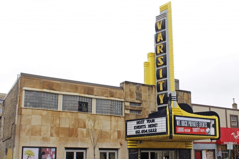 The exterior of Varsity Theater in Dinkytown on Wednesday, April 26. The theater was sold for over $2 million by former owner Jason McLean following four lawsuits alleging child sex abuse.