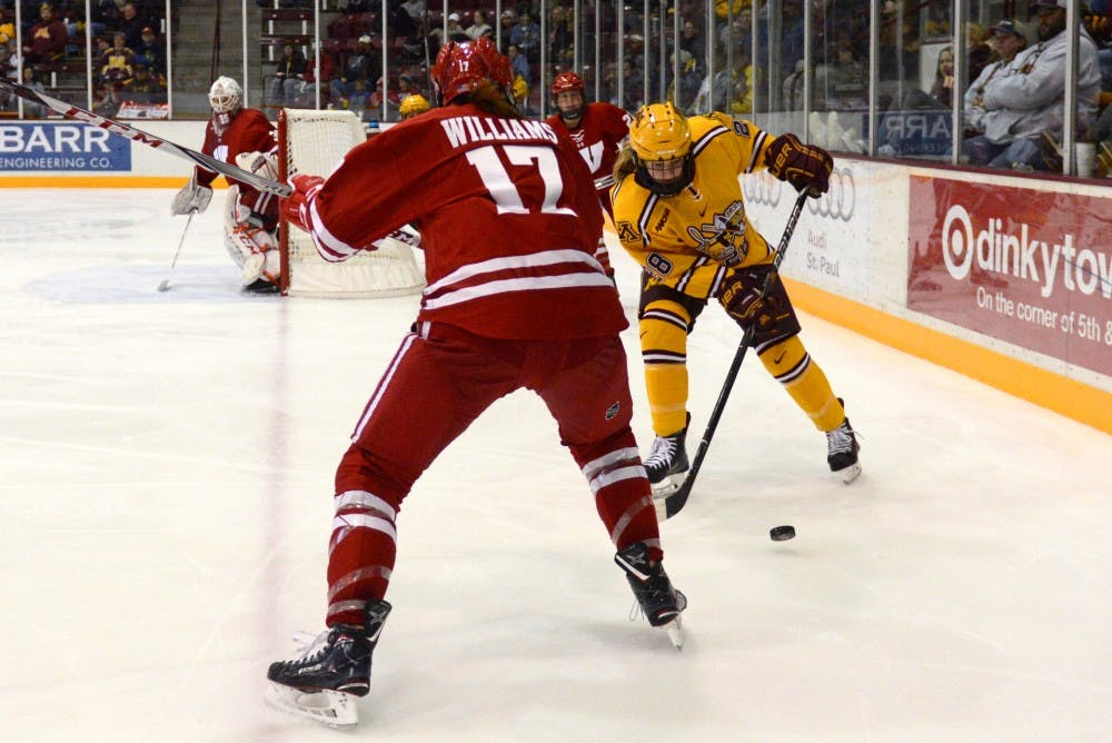 Wente goes on scoring surge for the Gophers