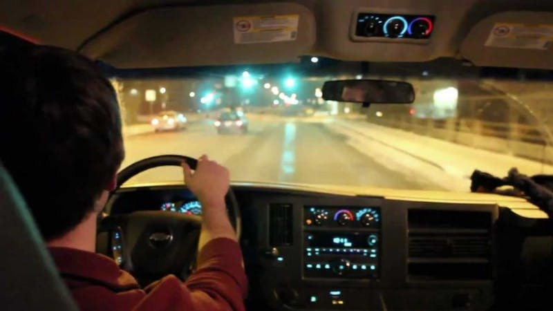 A Gopher Chauffeur driver makes their rounds on Feb. 5, 2012.