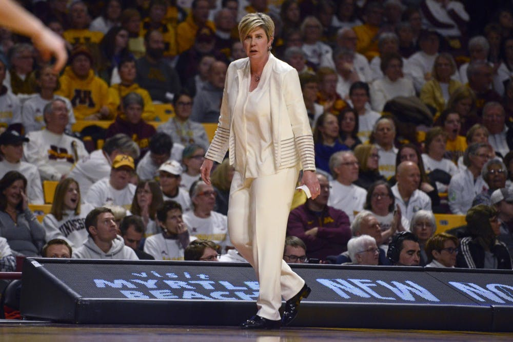 Gophers women's basketball coach Stollings leaving for Texas Tech