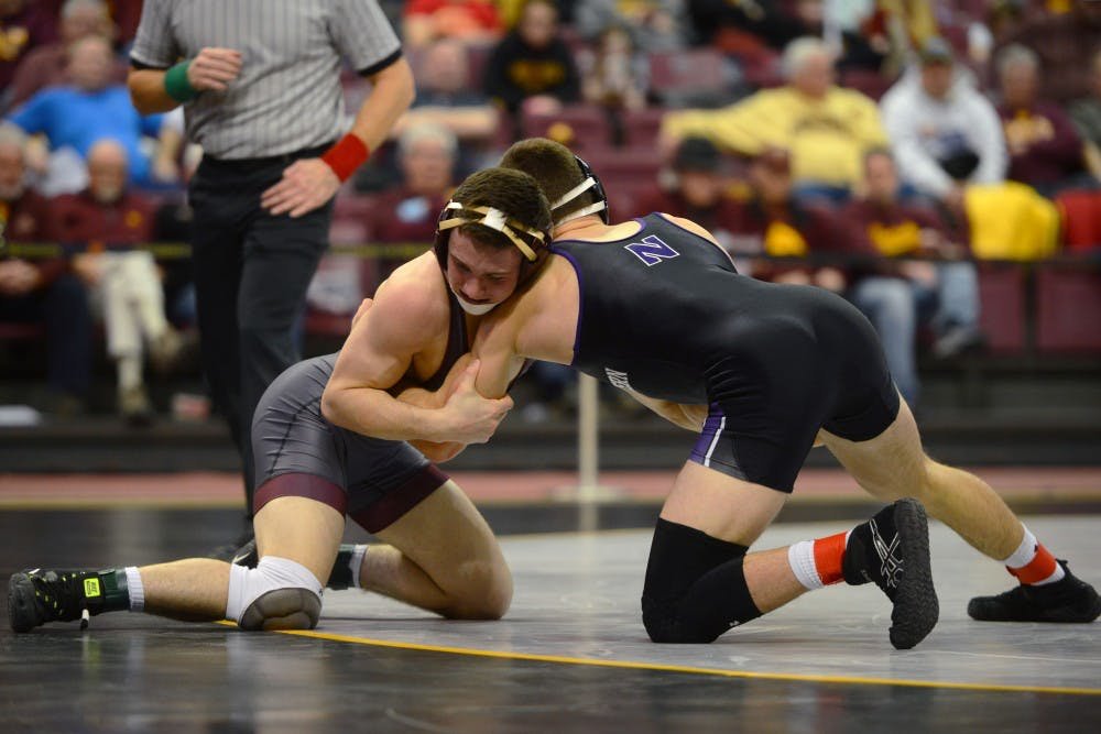 Gophers lose on pin in final match