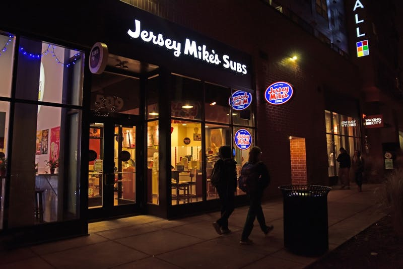 Jersey Mike's Subs on 509 14th Ave SE reported being robbed at gunpoint on Dec. 1 at 9:06 p.m. The reported loss was approximately $650 to $700.