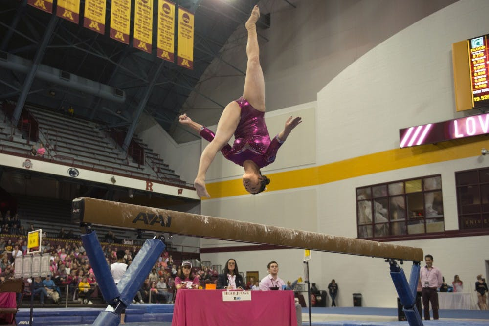 Gophers finish second in quadruple dual meet