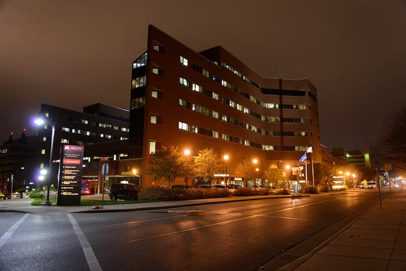 The University of Minnesota Medical Center, as seen on Monday, Oct. 23.