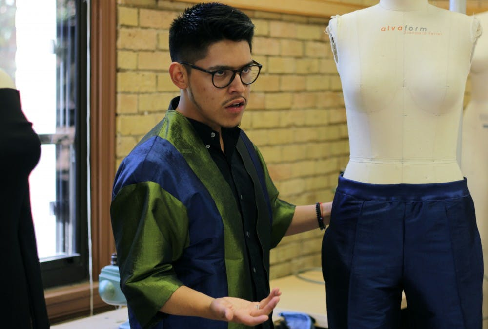 'Chic and fun': University student designs West Coast fashion line