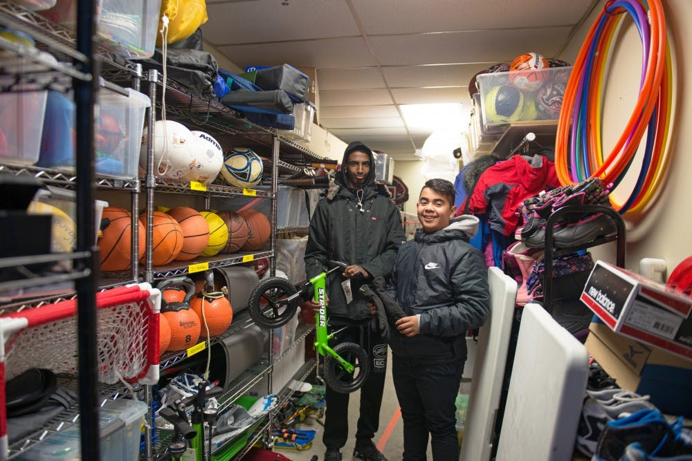 Cedar-Riverside program gives youth a 'library' of sports equipment