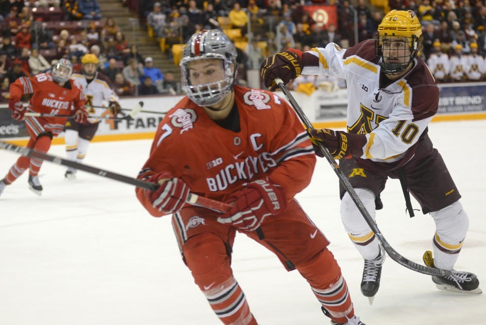 BIG10: Minnesota Ties Ohio State Then Loses In Shootout
