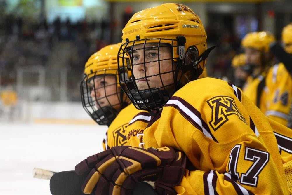 Whether stopping pucks or putting them through the net, Sierra Smith does it all for Minnesota