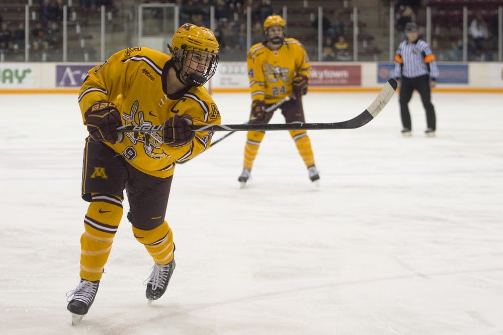 Minnesota completes weekend sweep of St. Cloud State
