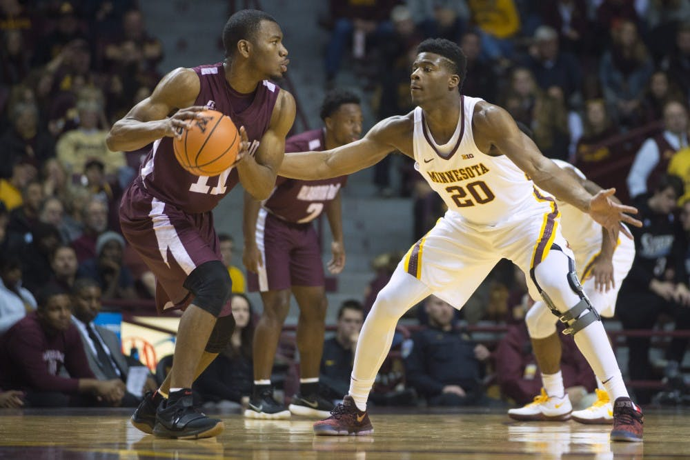 Murphy continues to roll as Gophers dismantle Alabama A&M