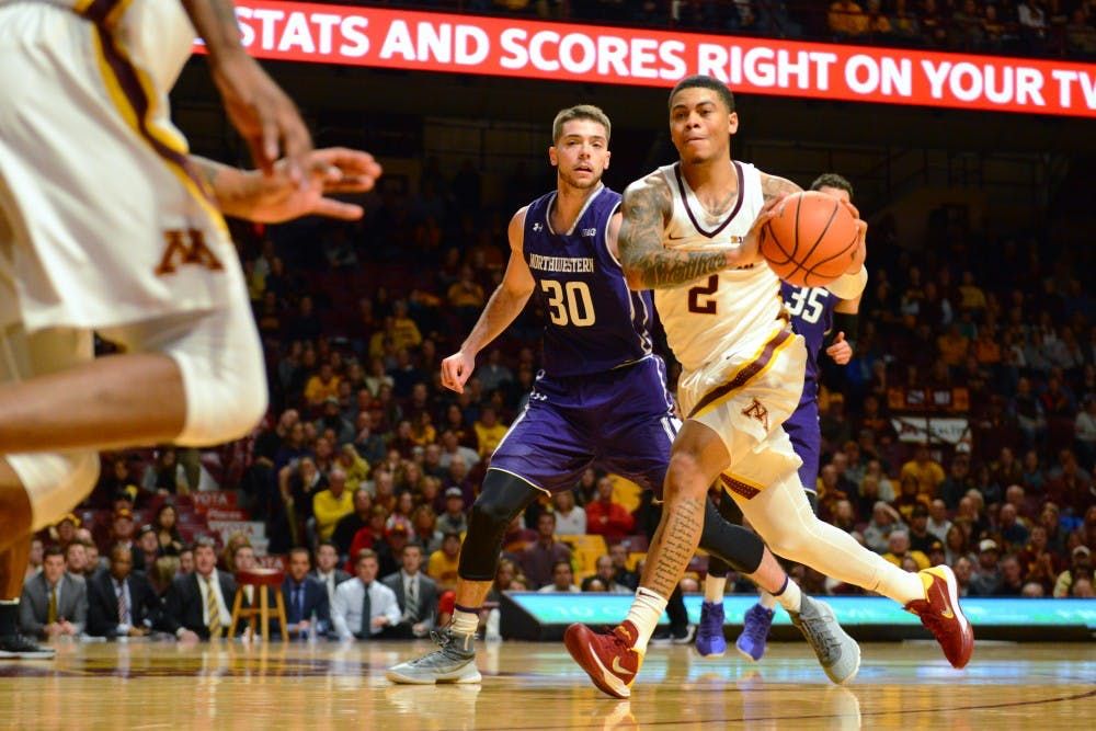 Gophers fall to No. 24 Michigan in overtime