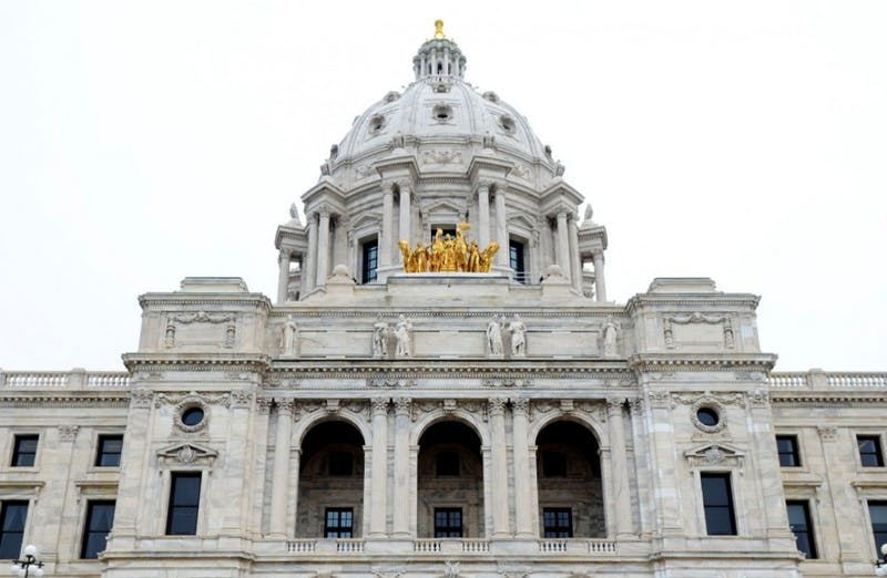 The Minnesota State Capitol as seen on May 13, 2015.