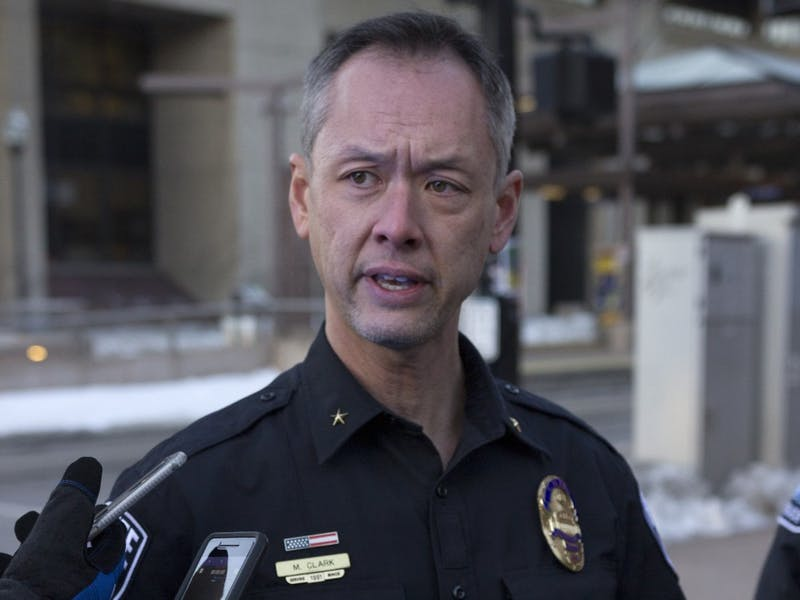 UMPD chief Matt Clark on Monday, Jan. 29.