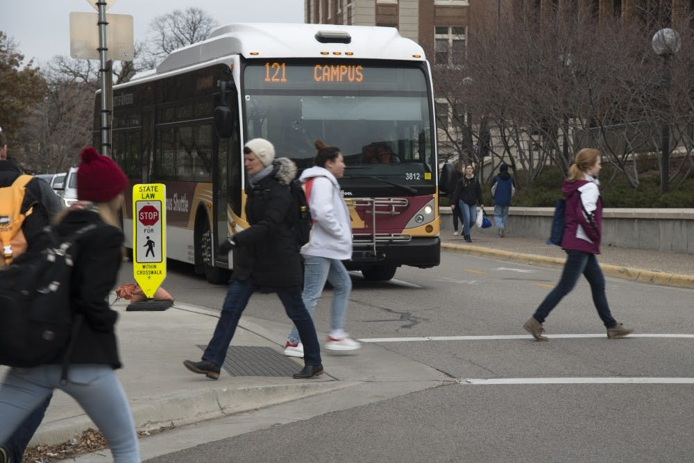 Pedestrian crash study points to high-risk areas around campus